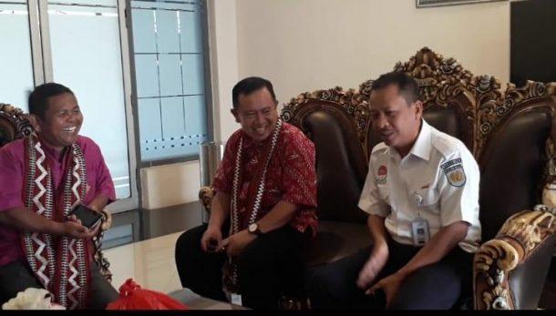 Siswa Asal Gorontalo Kunjungan ke PT KAI Tanjungkarang