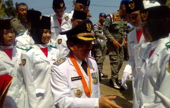 HUT Ke-73 RI, Wali Kota Bandar Lampung Herman HN: Saya Paling Suka Balap Kelereng dan Balap Karung