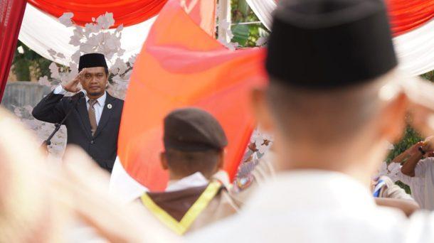 PKS Lampung Gelar Upacara HUT RI, Ketua Umum Mufti Salim Jadi Inspektur