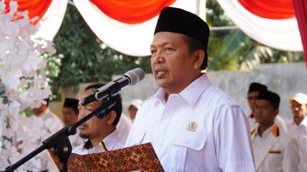 Bak Bung Karno, Johan Sulaiman Baca Teks Proklamasi Upacara HUT RI di PKS Lampung