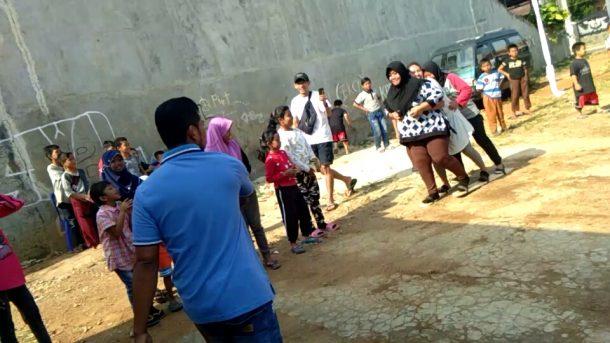 Warga Jalan Haji Said Kotabaru Meriahkan HUT Ke-73 RI