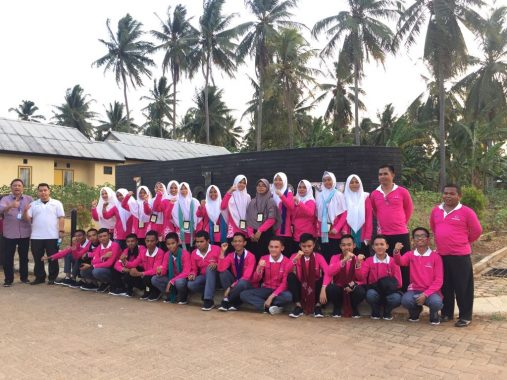 Siswa Mengenal Nusantara Asal Gorontalo Kunjungi Pesawaran Residence Milik Perumnas Bandar Lampung