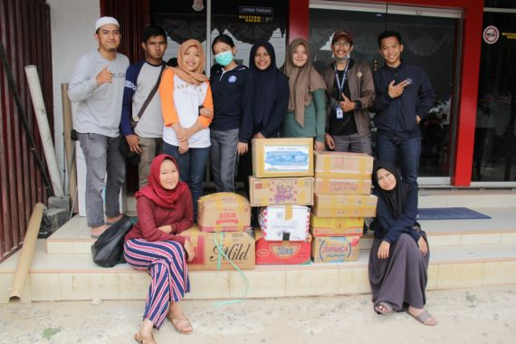 GenBI Lampung Galang Dana Peduli Lombok