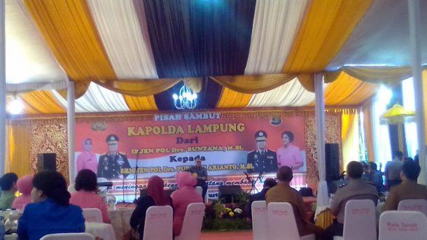 Ebiet G Ade Hibur Tamu Penglepasan Kapolda Lampung Irjen Suntana