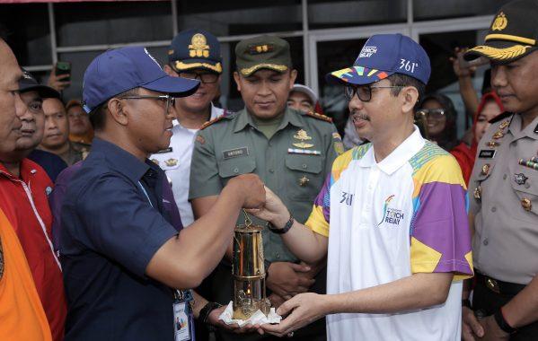 Api Abadi Asian Games 2018 Sambangi Lampung Selatan