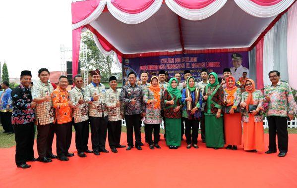 Lomba Desa Berprestasi Provinsi Lampung, Desa Karang Pucung Wakili Lampung Selatan