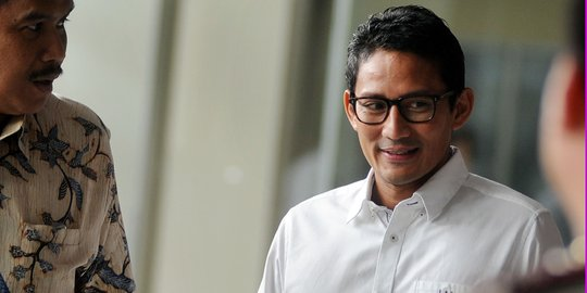 Prabowo Pilih Sandiaga Uno Jadi Cawapres