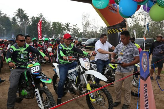 Nanang Ermanto Lepas 500 Rider Peserta Trail Adventure Cross