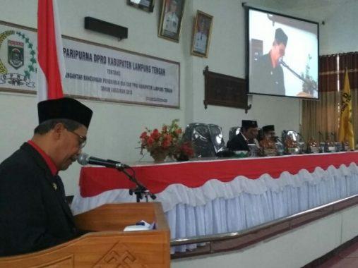 Advertorial: Rapat Paripurna DPRD Lampung Tengah Tentang Perubahan KUA-PPAS 2018, PAD Naik 0,23 Persen