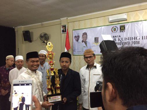 PKS Lampung Komitmen Rutin Gelar Lomba Baca Kitab Kuning Pasca-Pemilu