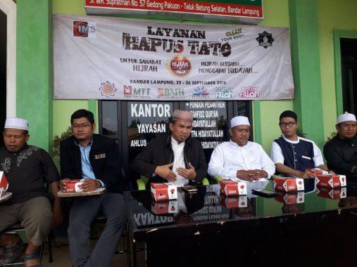 Anda Mau Hapus Tato? Ikuti Acara Gelaran Tiga Lembaga di Bandar Lampung Ini