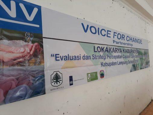 Mitra Bentala, SNV, dan Pemkab Lamsel Lokakarya Evaluasi Daerah Bebas Buang Air Besar Sembarangan