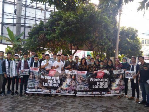 Harmonis dan Sinergis, Puluhan Komunitas Galang Dana Lombok Inisiasi ACT Lampung