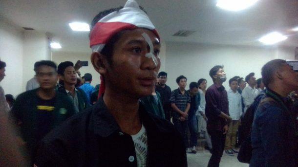 Dipukul Anggota Sabhara Saat Demo, Anggota HMI Bandar Lampung Terima Empat Jahitan di Wajah