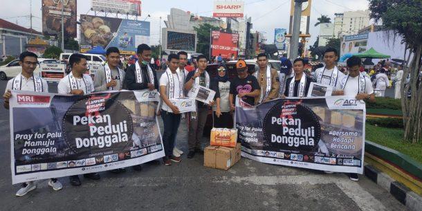 Mr Global Lampung Galang Dana Korban Bencana di Donggala, Hasil Disalurkan lewat ACT Lampung