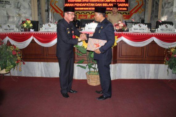 Bupati Lampung Utara Harap Rancangan APBD Perubahan 2018 Segera Disetujui Bersama