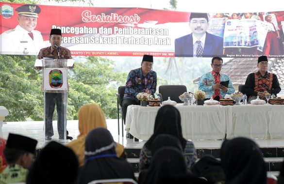 Pemkab Lampung Selatan Sosialisasi Pencegahan Kekerasan Seksual untuk Pelajar