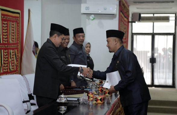 Sekdakab Lampung Selatan Apresiasi Dewan yang Sahkan 3 Raperda