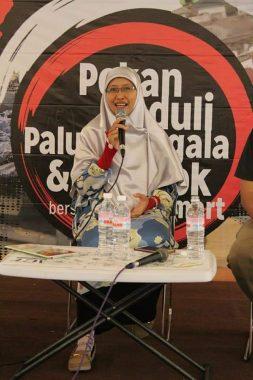 Klinik Kepenulisan Pekan Peduli Palu-Donggala ACT Lampung, Naqiyyah Syam: Bloger Bisa Jadi Profesi Menjanjikan