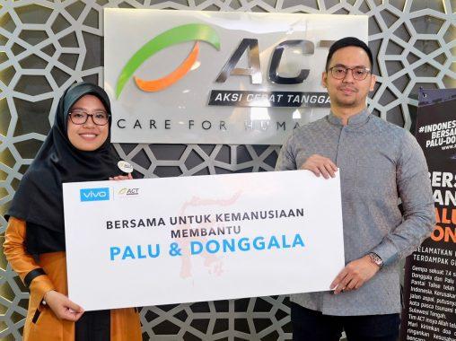 Vivo Indonesia dan ACT Bantu Palu-Donggala