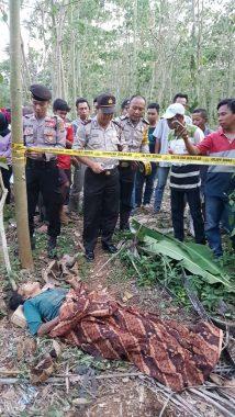 Warga Labuhanratu V Lampung Timur Temukan Mayat