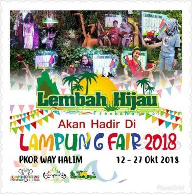 Stan Lembah Hijau Hadir di Lampung Fair 2018