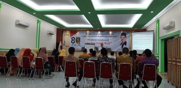 PKS Bandar Lampung Ingin Caleg Menang Bermartabat