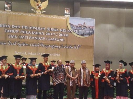 Ini Kunci Utama Lulusan SMK SMTI Bandar Lampung Banyak Terserap Pasar Kerja