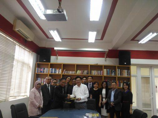 FISIP Unila Rintis Kerja Sama dengan Universitas Vietnam