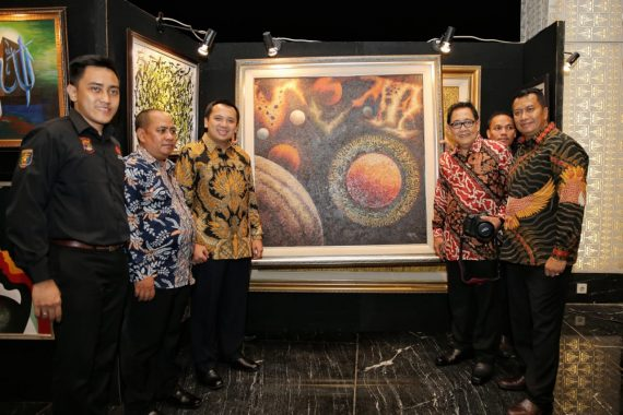 Enam Puluhan Lukisan Terjual Malam Amal Donggala, Lampung Sumbang Rp1,7 Miliar