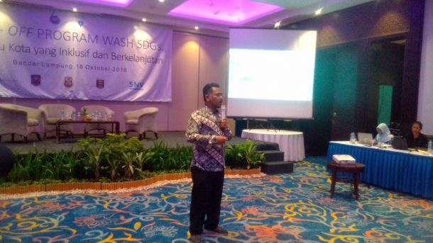 Bandar Lampung dan Metro Jadi Percontohan Kota Sanitasi Aman