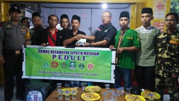 Ormas Lintas Pemuda Seputihmataram Donasi Kemanusiaan Melalui ACT Lampung