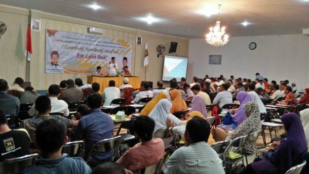 Jemput Kemenangan Pemilu 2019, PKS Bandar Lampung Bentuk Koordinator Kelurahan