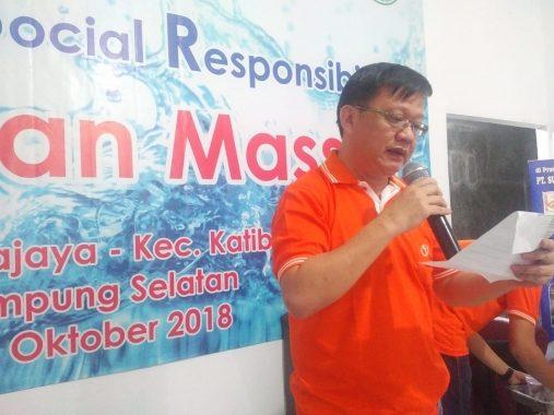 Bakti Sosial PT Suri Tani Pemuka Lampung, 51 Anak Ikuti Khitanan Massal di Balai Desa Sukajaya Katibung Lamsel