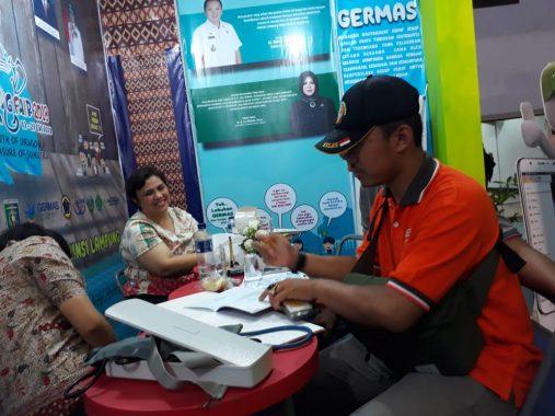Mau Cek Gula Darah dan Asam Urat Gratis di Lampung Fair? Yuk ke Stan Dinas Kesehatan Lampung