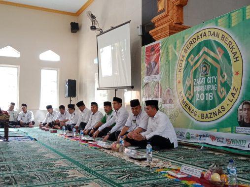 Peluncuran Kota Zakat, ACT Lampung Ambil Peran Pemberdayaan Masyarakat