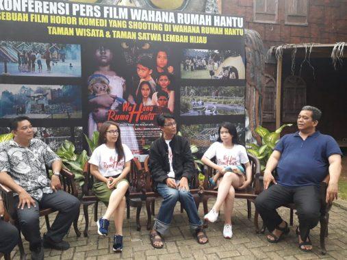 Film Wahana Rumah Hantu Ambil Lokasi Syuting di Lembah Hijau, Naikkan Pamor Lampung ke Pentas Nasional