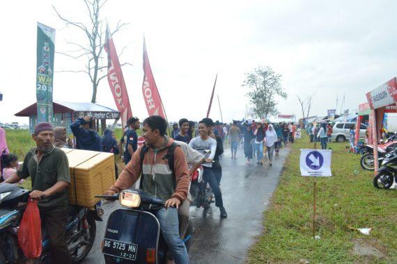 Pendapatan Negara Bukan Pajak dari Festival Way Kambas Rp21 Juta