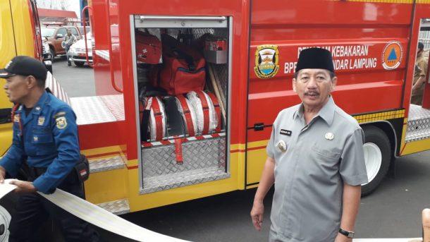 Pemkot Bandar Lampung Awal Tahun Depan Tambah 5 Mobil Pemadam Kebakaran