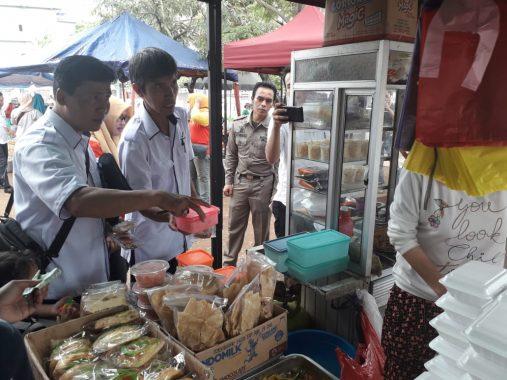 BPOM Bandar Lampung Sidak Kantin SDN 2 Rawalaut dan SD Persit