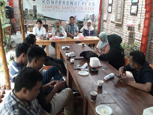 Maknai Hari Toilet Sedunia, SNV-Pemprov Lampung Helat Pekan Sanitasi