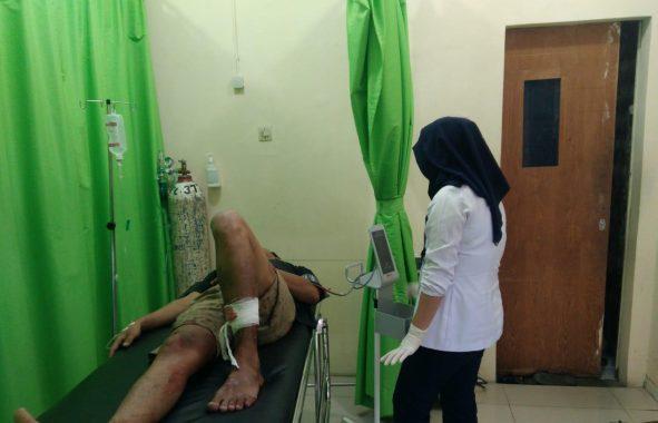Coba Kabur, Tersangka Pencuri Mobil Ditembak Petugas Polsek Panjang Bandar Lampung