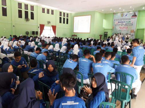 BBPOM Bandar Lampung Goes to School di SMAN 2, Ratusan Siswa Ikut Serta