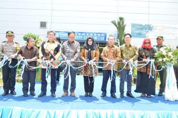 Bupati Dewi Handajani Resmikan PT Tanggamus Elektronik Power