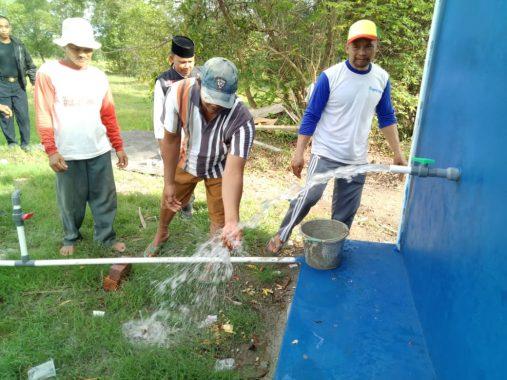 Petani Karanganyar Lamsel Bahagia Manfaatkan Air Bersih Sumur Wakaf ACT Lampung
