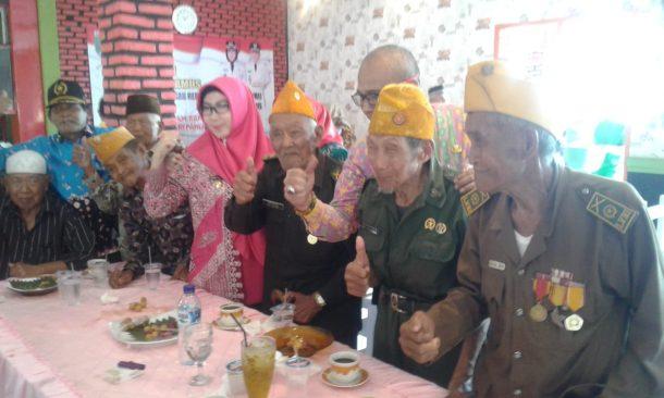 Peringati Hari Pahlawan, Bupati Tanggamus Dewi Handajani Janji Luncurkan Kartu Lansia