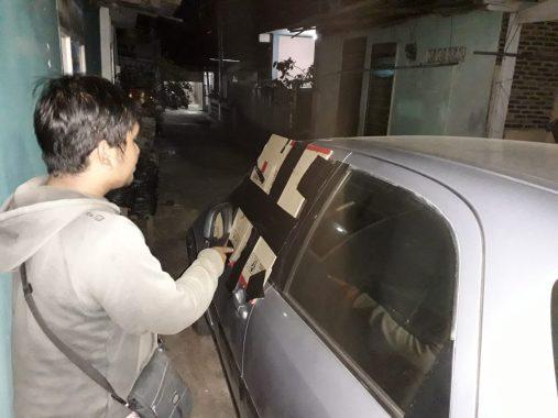 Kaca Mobil Dipecah, Duit Rp30 Juta Milik Warga Way Halim Raib