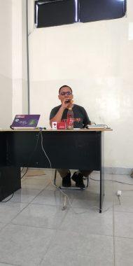 Peningkatan Kapasitas Pengurus FKAR Bandar Lampung, Pemred Jejamo.com Adian Saputra Jelaskan Tips Bangun Relasi