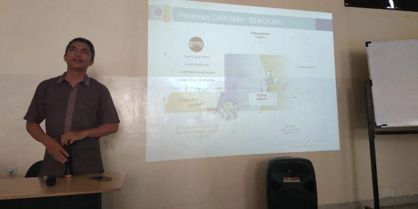 Up Grading FKAR Bandar Lampung, M Suhada Jelaskan Arti Penting Dakwah di Kalangan Pelajar
