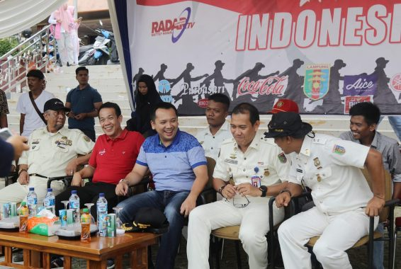 Gubernur Lampung Ridho Ficardo Apresiasi Lomba Ketangkasan Baris-Berbaris